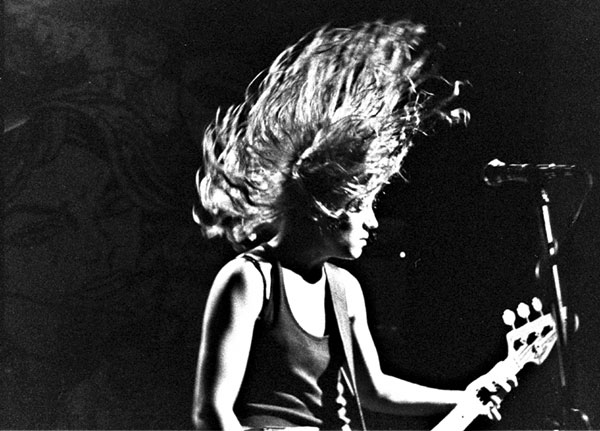 L7 bassist Jennifer Finch at Satyricon