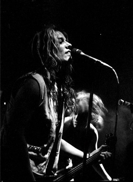 Donita Sparks of L7 early 90's at Satyricon