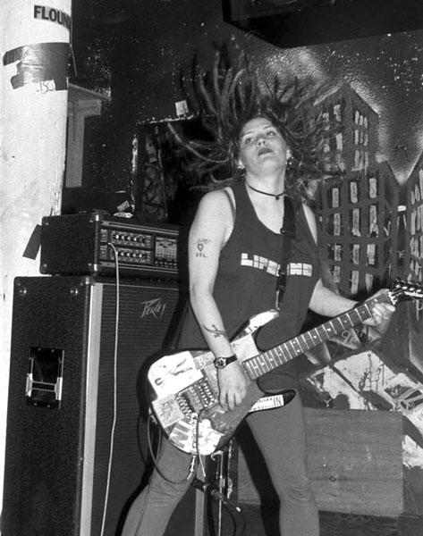 7 Year Bitch guitarist Stefanie Sargent